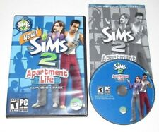 The Sims 2 Apartment Life PC Game Complete 2008 Expansion Pack