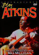 Artsmagic PLAY Country Guitar Style CHET ATKINS Video DVD Lesson Max Milligan