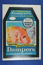 1973 Topps - Wacky Packages - Dampers - Excellent+++ Condition