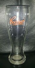 RARE COLLECTABLE COOPERS RED LABEL 285ML BEER GLASS IN EXCELLENT CONDITION