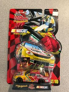 1997 Racing Champions Terry Labonte #5 Bayer 1:144 Stock Car with Stand and Card
