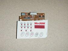 Maxim Bread Machine Bread Maker Control Panel Model BM500