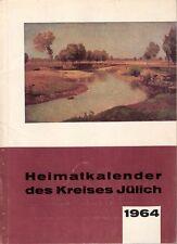 Heimatkalender des Kreises Jülich 14. Jahrgang 1964. Jülich, Fischer, 1963.