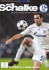 Schalker Kreisel + Champions League 2010/2011 + FC Schalke 04 vs Hapoel Tel Aviv