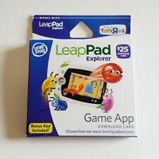 LeapFrog LeapPad Explorer Game App Download Card