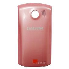 Genuina Original BATERÍA cubierta Trasera Para Samsung E2550 Monte Slider Rosa