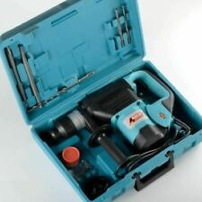 1 Amp 12 Electric Rotary Hammer Drill Plus Demolition Withbits Variable Speed Tool