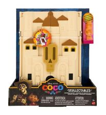 Disney Coco Skullectables Hacienda Mini Figure Playset EXTRA FREE SKULLECTABLE
