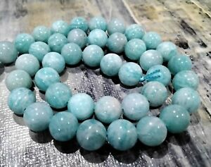 Natural Amazonite, Grade AAA, 8mm, Approx 47 pce,Free postage. Oz Seller