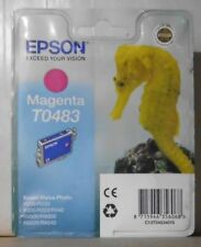 EPSON t0483 inchiostro magenta per Stylus Photo r200 r300 rx500 rx600 rx620 rx640 OVP