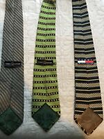 Lot of 3 TOMMY HILFIGER Ties Neckties Free Shipping