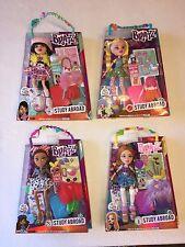 Lot of 4 Bratz Dolls Study Abroad Wave 2 ~ NEW, SEALED Kumi Yasmin Meygan Cloe