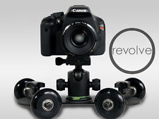 NEW Revolve Camera Dolly video slider stabilizer tracking track skater table top