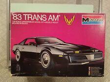 Vintage Monogram 2202 '83 TRANS AM 1/24 Model Kit Rare