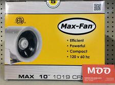"""MAX FAN 10"""" 1019 CFM (inline, Can Fan Group)"""