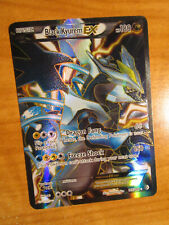 LP FULL ART Pokemon BLACK KYUREM EX Card BOUNDARIES CROSSED Set 145/149 Rare AP