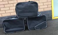 Borse Foderate, & Scatolo Superiore per BMW Vario R1200 Gs con Tasca Esterna