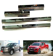 4 DOOR SILL SCUFF PLATE CHEVROLET HOLDEN COLORADO RG MY 2012 - 2017 Z71 LTZ LT