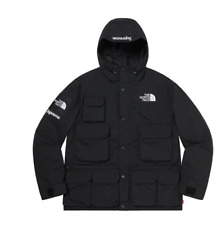 Supreme/the North Face Cargo Jacket Medium Black Ss20 out Authentic