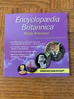 Encyclopedia Britannica Computer Software