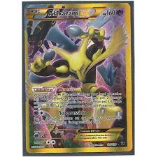 ALAKAZAM EX 125/124 Ultra Rare Star Secret Holo Foil Pokemon Card! FULL ART!