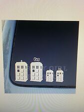 English Style Phonebooth/Phonebox Family Vinyl Decal Doctor Who