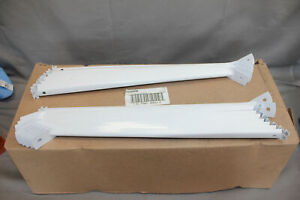 """Lot of 20 Rubbermaid 12"""" Support Bracket for Wire Shelving Metal White"""