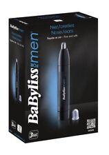 BaByliss Naricero E650E Tondeuses à cheveux pour nez et oreilles système lavable