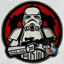 Stormtrooper Soldier & Empire Logo Embroidered Big Patch Star Wars Darth Vader