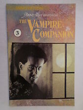 The Vampire Companion Anne Rice Interview Volume 1 #3 Innovation Corp 1992 NM