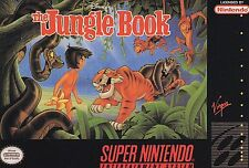 Disney's The Jungle Book (Super Nintendo Entertainment System, 1994) Game Only