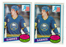 MIKE RAMSEY 1980-81 OPC #127 RC Rookie Lot NRMT O Pee Chee Buffalo Sabres