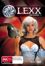 LEXX - SEASON 1 (4 DVD SET) BRAND NEW!!! SEALED!!!