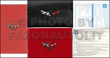 2002 Corvette Owners Manual with Envelope NOS Owner Guide VHS and Warranty