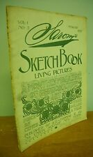 1895 SARONY'S SKETCH BOOK Living Pictures Magazine of Art