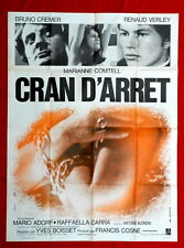CRAN D'ARRET BRUNO CREMER MYSTERY 3SH 1970 VINTAGE FRENCH MOVIE POSTER