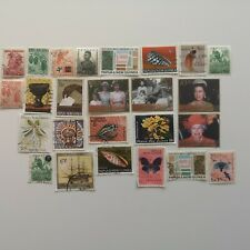 200 Different Papua New Guinea Stamp Collection