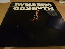 OC SMITH - THE DYNAMIC - ORIGINAL CBS LP 1967 ORANGE LABEL - EX/EX SILLY CHEAP!