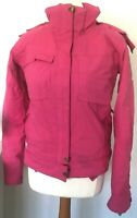 HELLY HANSEN Jacket Size XS PINK | HellyTech Quilted Skiing Snowboarding Hooded