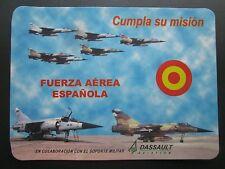 STICKER DASSAULT AVIATION FUERZA AEREA ESPANOLA SPANISH AIR FORCE MIRAGE F1