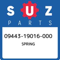 09443-19016-000 Suzuki Spring 0944319016000, New Genuine OEM Part