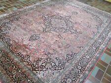 Edad hecha persas Orient alfombra cachemira seda ghom Carpet Rug 332x241cm