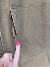 New listing Hawx Work Gear Sherpa Lined Vest Xl Multiple Pockets Brown Nwot