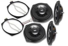 2x Earthquake Sound SWS-8X Subwoofers Include Speaker Adpater Ring 600W 4-OHM
