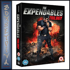 THE EXPENDABLES TRILOGY - 1 2 & 3  **BRAND NEW DVD BOXSET***
