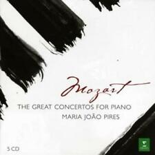 Wolfgang Amadeus Mozart : Piano Concertos (Pires) CD 5 discs (2008) ***NEW***