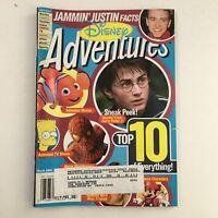 Disney Adventures Magazine March 2004 Justine Timberlake, Daniel Radcliffe VG