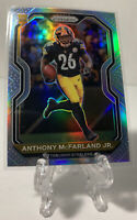 Anthony Mcfarland Jr 2020 Panini Prizm Silver 393 Pittsburgh Steelers RC Rookie