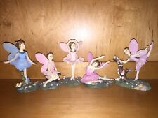 5 DEZINE The Fairy Collection Bonnie Ballet Dancing Rose Lilly Ballerina Signed