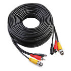 100ft CCTV RCA Surveillance Security Camera Wire Cable Audio Video BNC DVR Cord